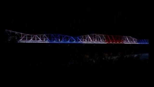 Preview of Big River Crossing Light Displays