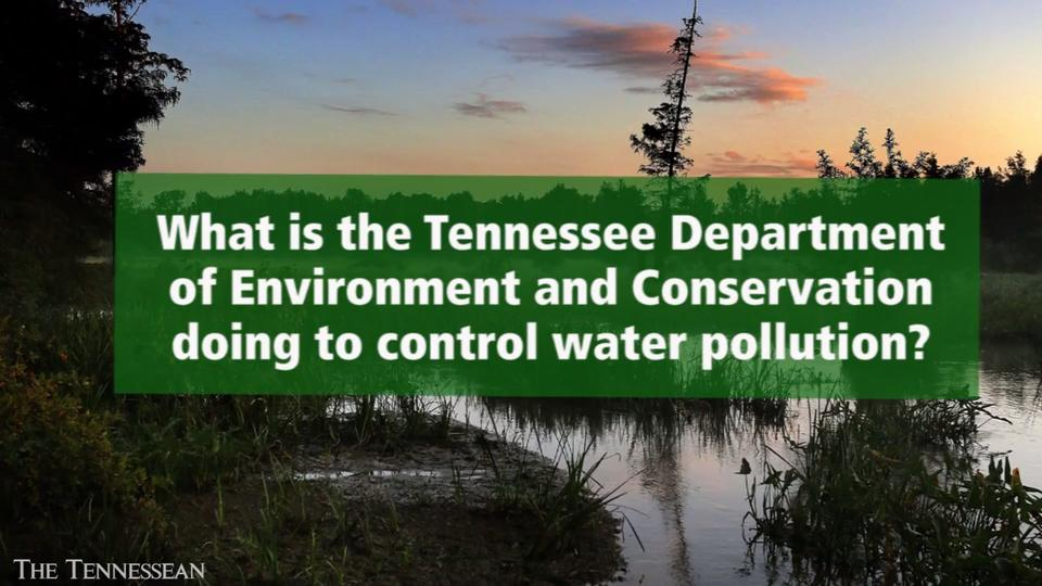 What is being done to control water pollution in Tennessee?
