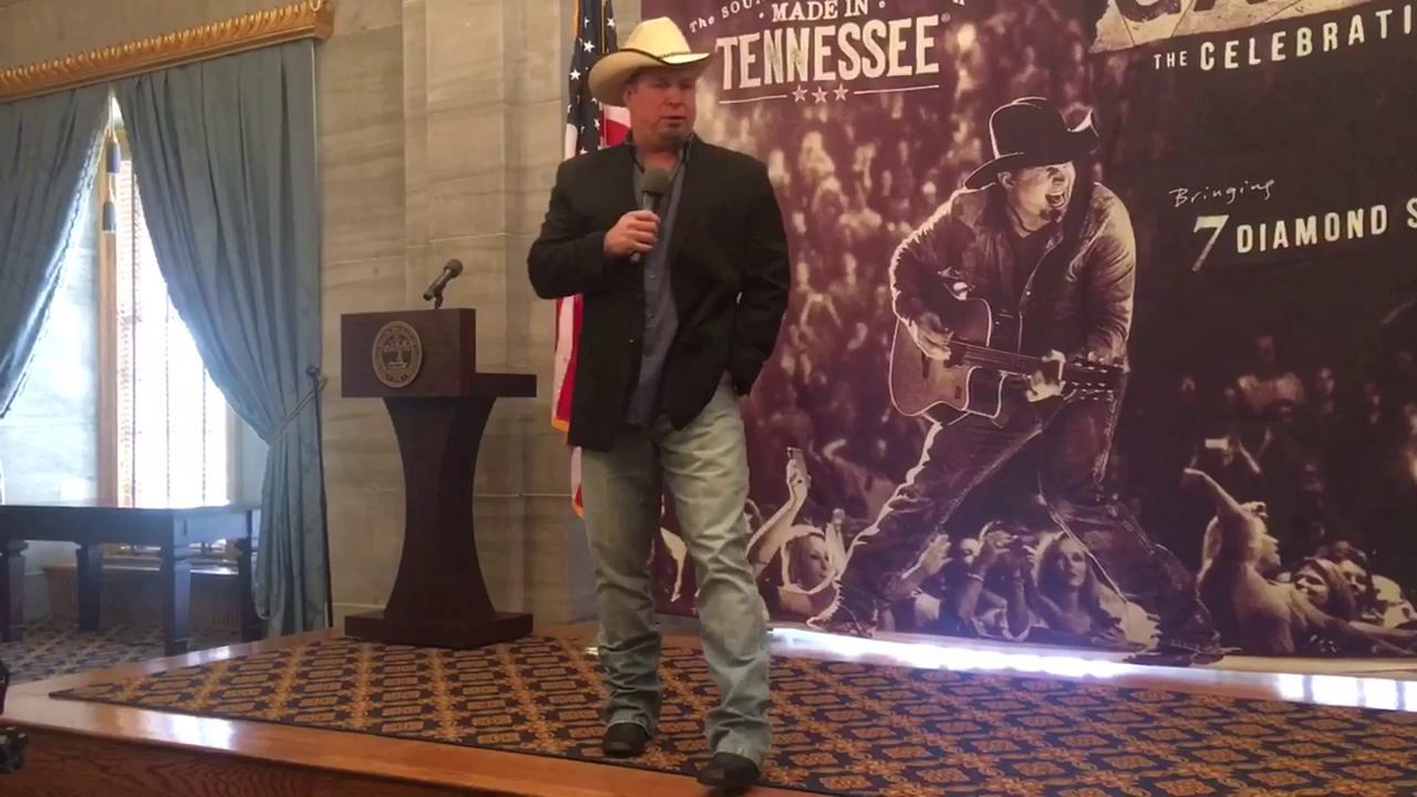 Garth Brooks talks Nashville and Tennessee