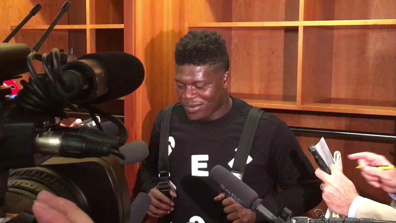 Kendall Wright talks Titans 28-26 win over the Browns