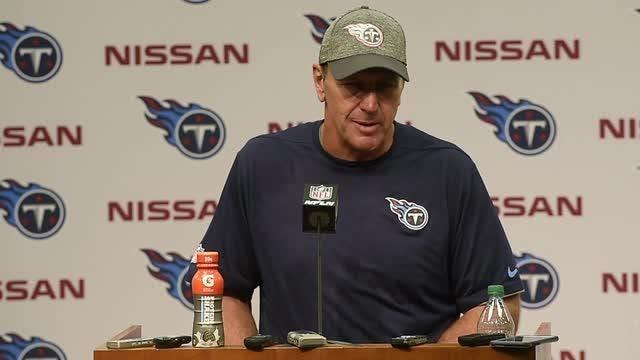 Mariota, Mularkey discuss the Titans' 28-26 win over Cleveland