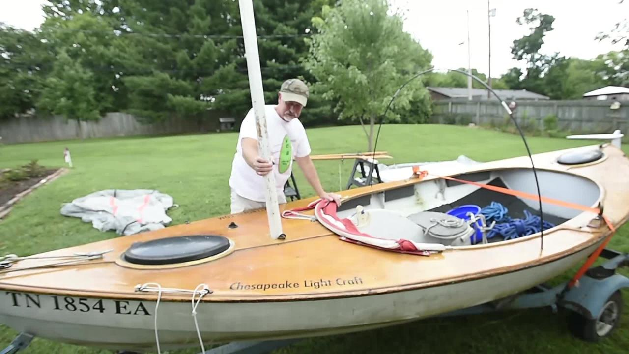 John Guider on his Tennessee River journey