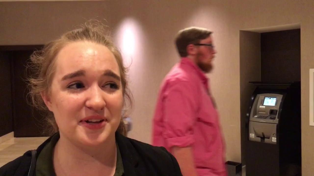 High school senior reacts to Trump win