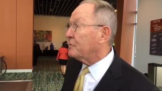 Sen. Lamar Alexander reacts to Trump win, Senate results