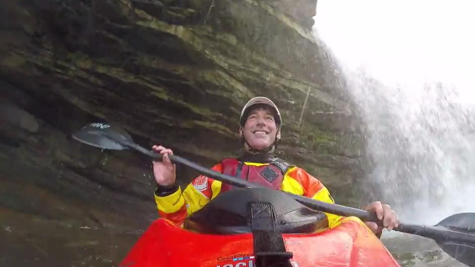 World champion kayaker Eric Jackson is at home at Rock Island State Park