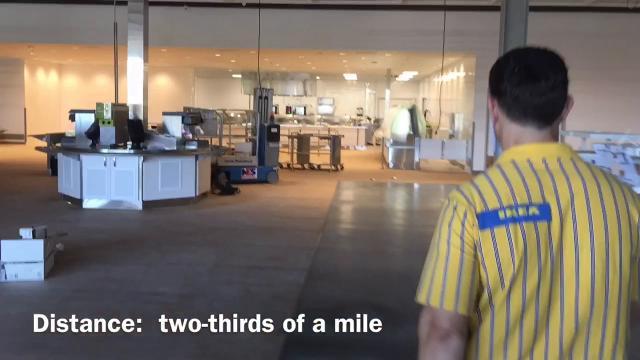 Time-Lapse Tour of Ikea Memphis