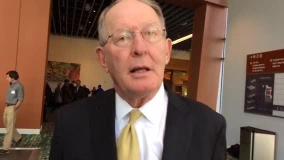 Sen. Lamar Alexander thoughts on what President-elect Donald Trump should tackle first