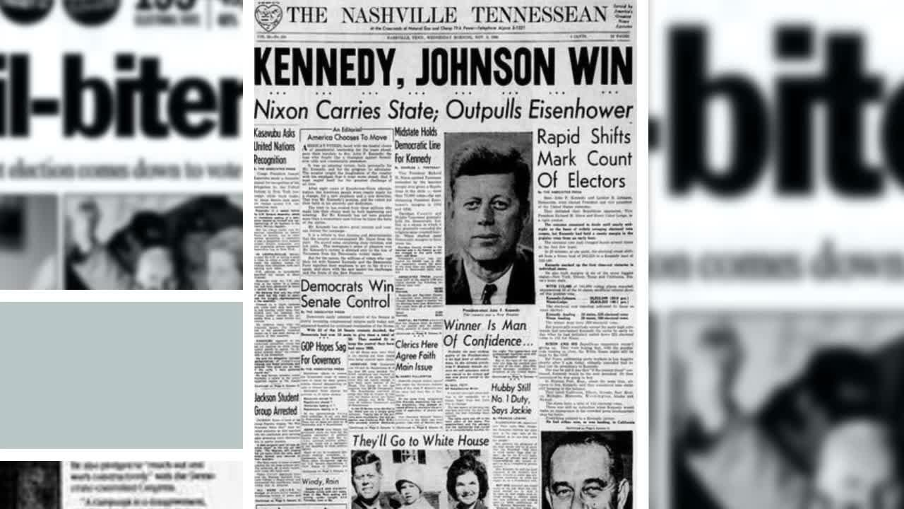 Every Tennessean Election Night front page from 1908-2016