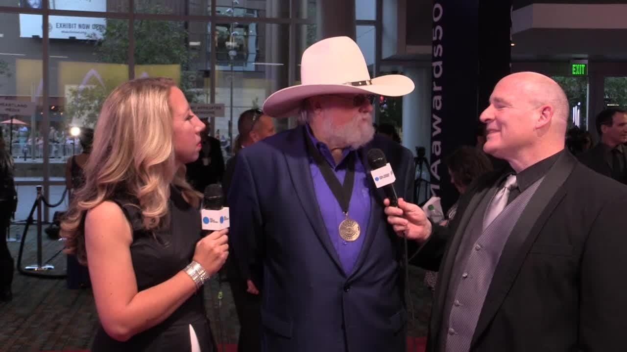 What's it like to be inducted into Country Music Hall of Fame? Charlie Daniels answers that question!