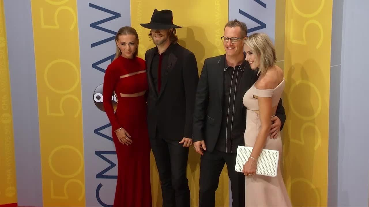 Country's biggest stars show off on the CMA Awards red carpet
