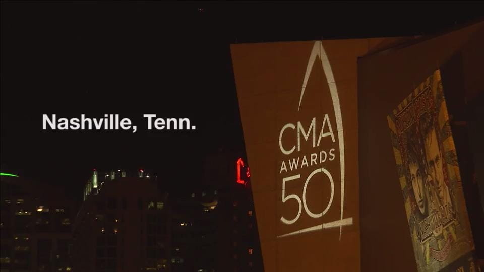 Who twirled it best on the CMA Awards red carpet?