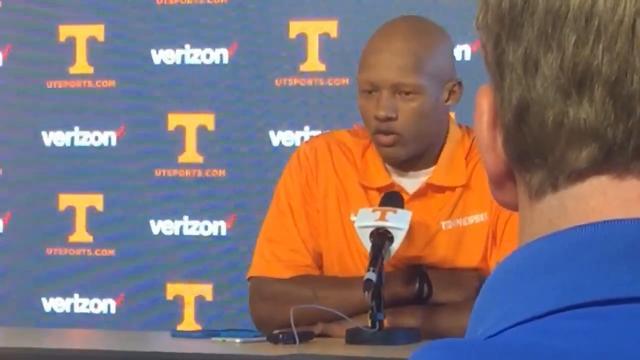"Joshua Dobbs explains coach Butch Jones' ""champions of life"" comment"
