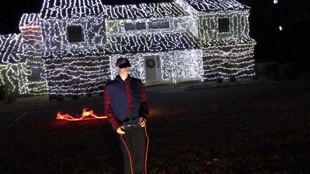 Winning home in Germantown Holiday Lighting Contest