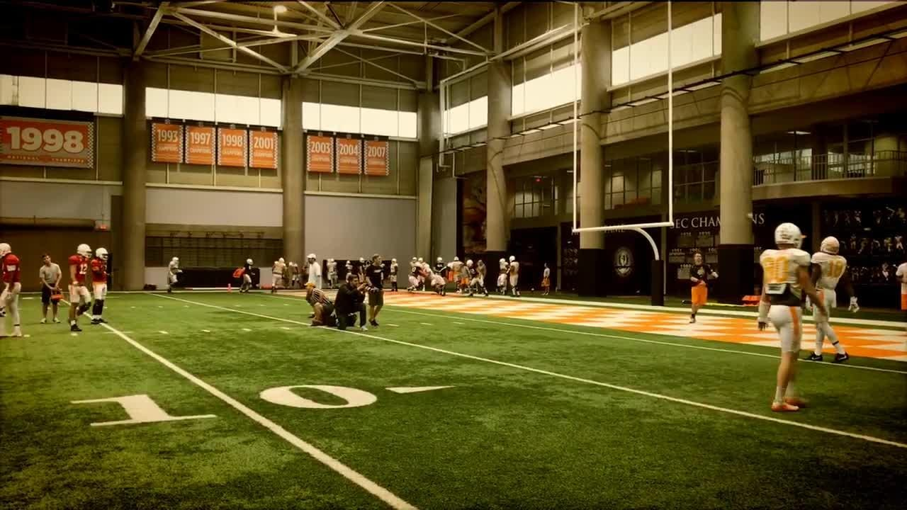 Tennessee football practice report 12/13
