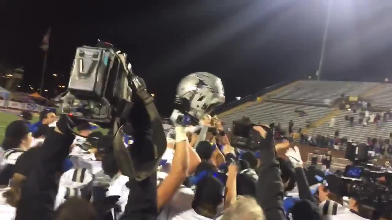 Farragut accepts BlueCross Bowl trophy