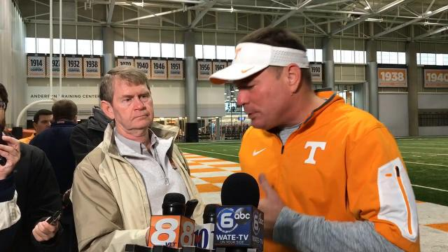 Butch Jones talks Music City Bowl preparation