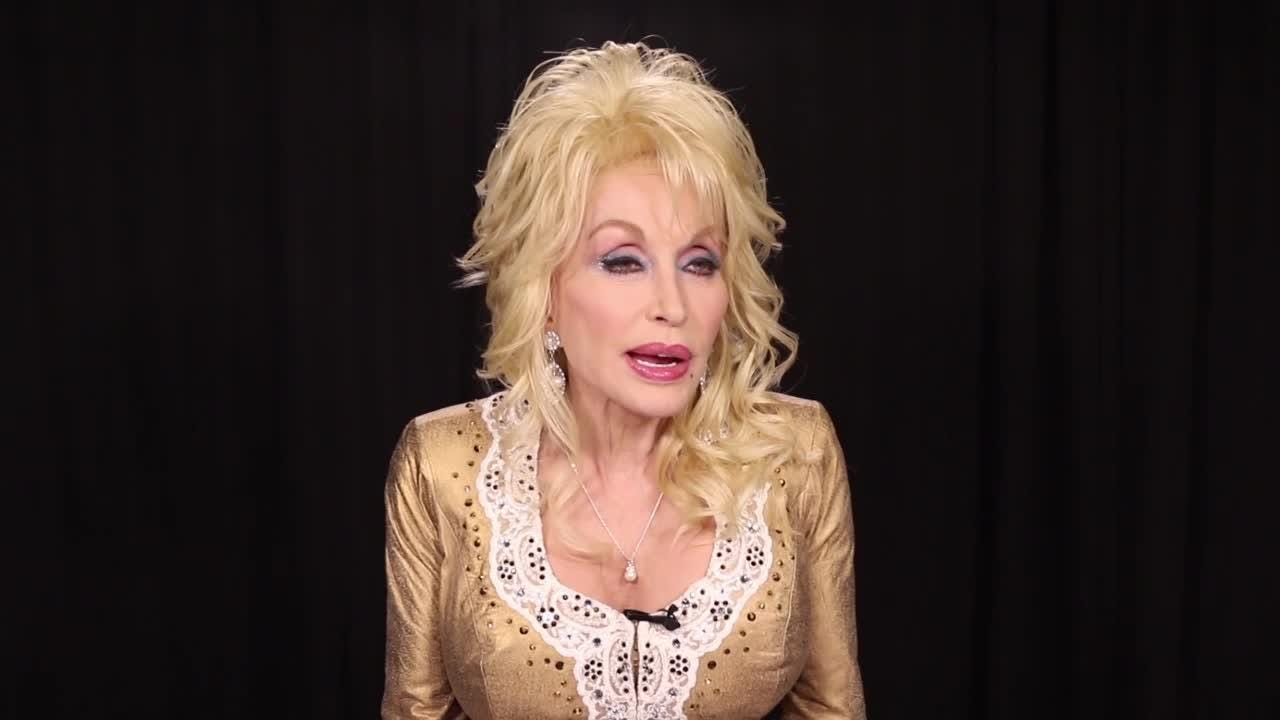 """Dolly Parton Q&A: Who came up with the name, """"My People Fund""""  and explain what those three words me"""