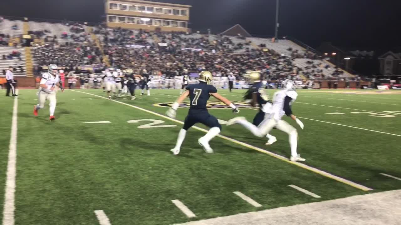 Video: Highlights from Independence's state title loss to Farragut.