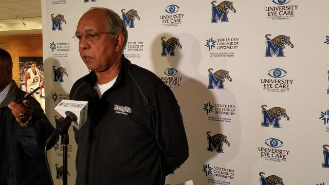 Tubby Smith previews Memphis game at Houston