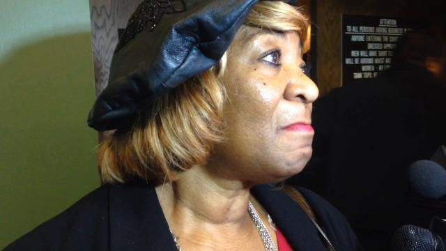 Gloria Sweet-Love speaks about woman who was fatally shot in Target parking lot