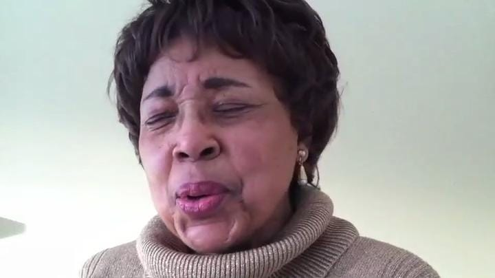 Dorothy Cotton sings freedom songs