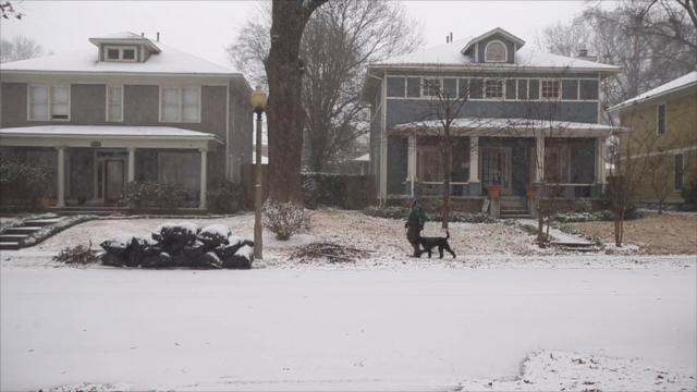 Memphis Snow Day