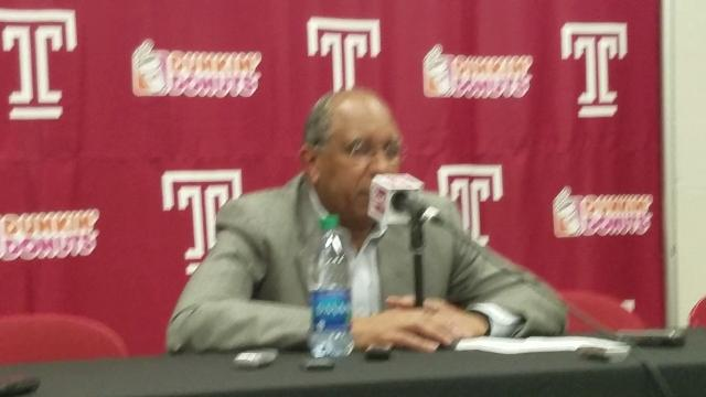 Tubby Smith reacts to Temple loss