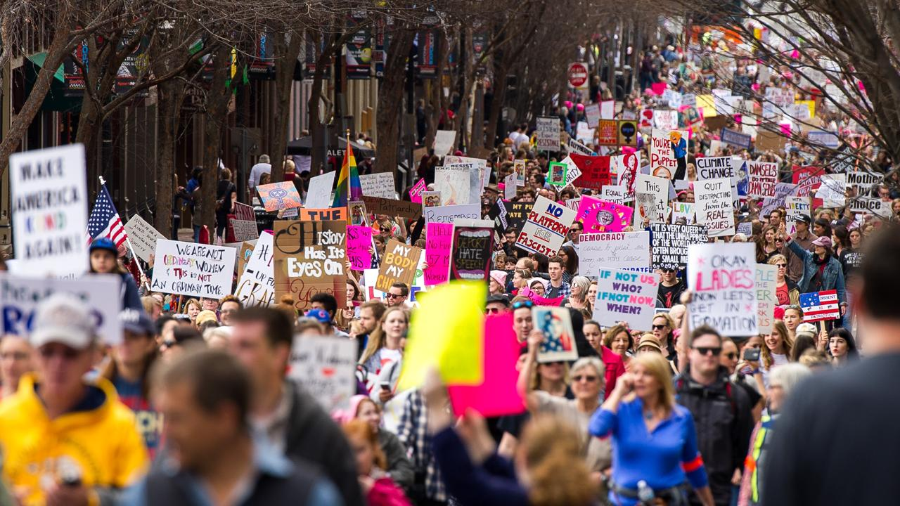 Thousands attend Women's March On Nashville