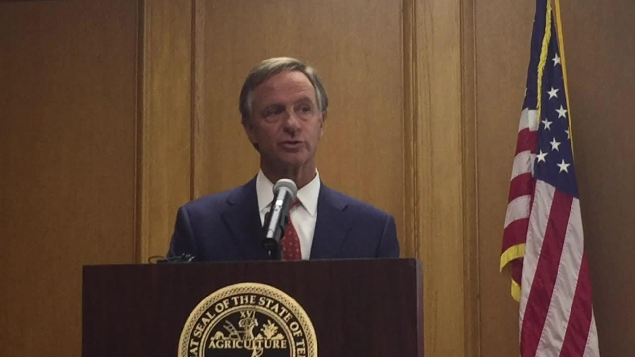 Raw video: Haslam discusses 2018 budget proposal