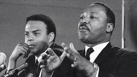 Andrew Young talks about King wanting to return to Memphis