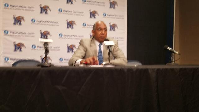 Tubby Smith talks about Tigers' win over UConn