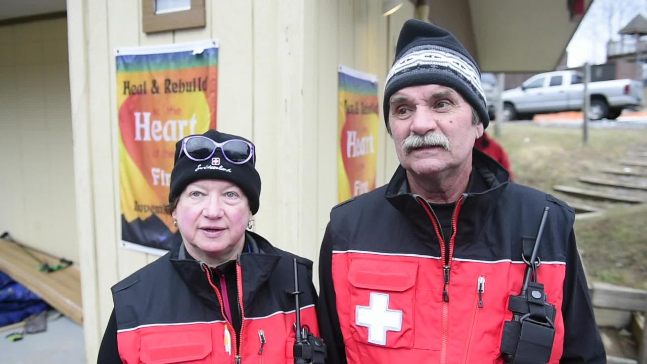 Ski Patrol helps their own after fire