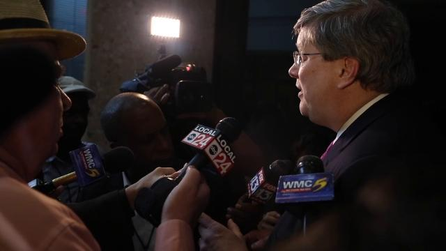 Mayor Strickland talks about 'blacklist'