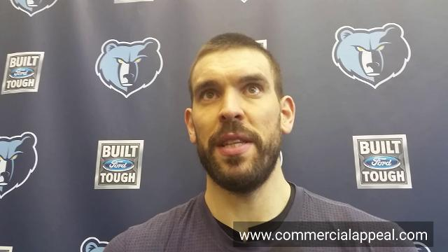 Marc Gasol after All Star appearance