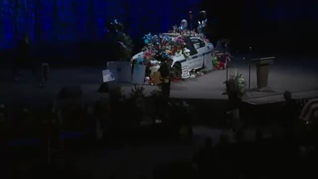 Video: Officer Eric Mumaw remembered in emotional service