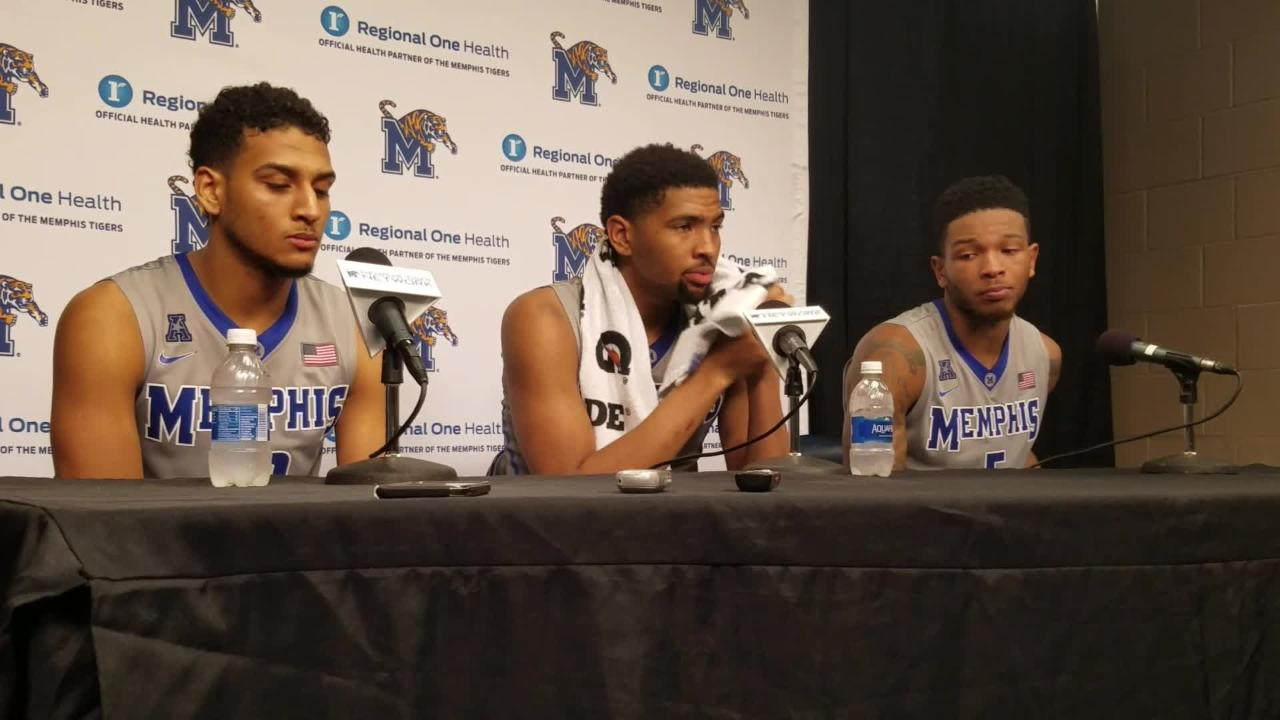 Dedric Lawson on scoring 1,000 points