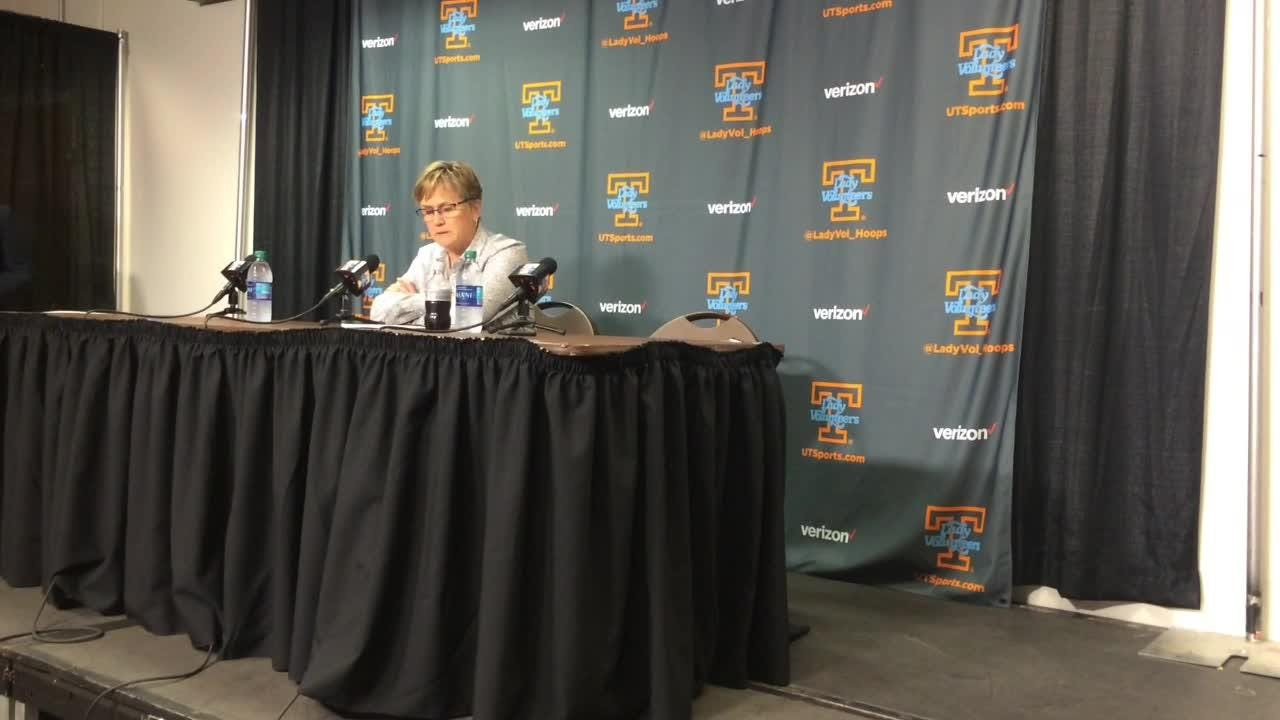 Video: Holly Warlick on the Lady Vols' comeback win over Florida