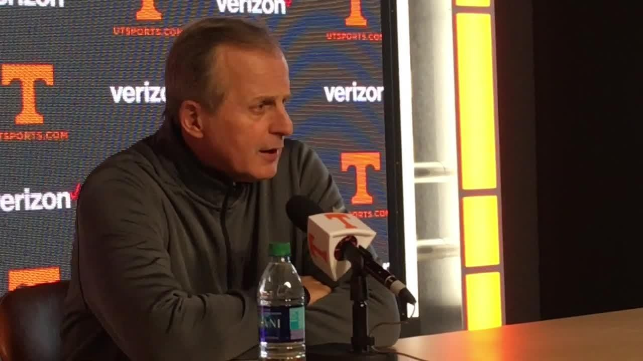 Rick Barnes wants Vols to understand need for late-season intensity