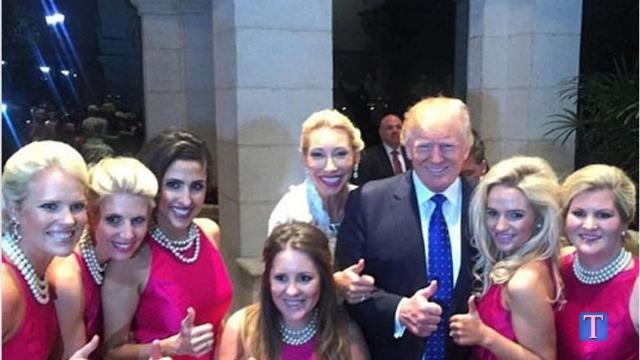 President Trump crashes Nashville couple's wedding
