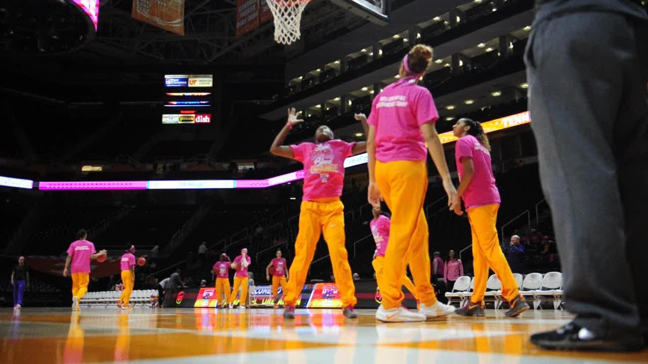 Video: Lady Vols prepare to take on LSU
