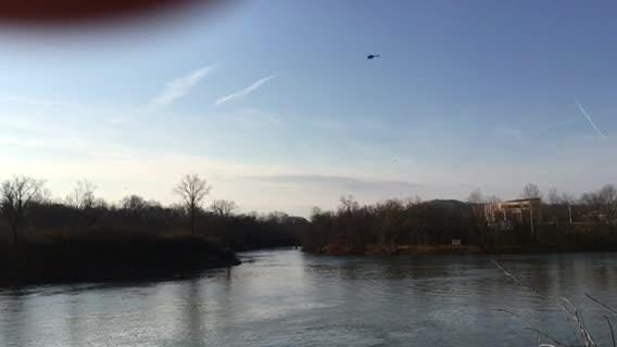 Officials take part in water rescue on Cumberland River