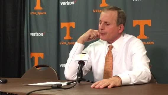 Rick Barnes: Every game is going to be a grind