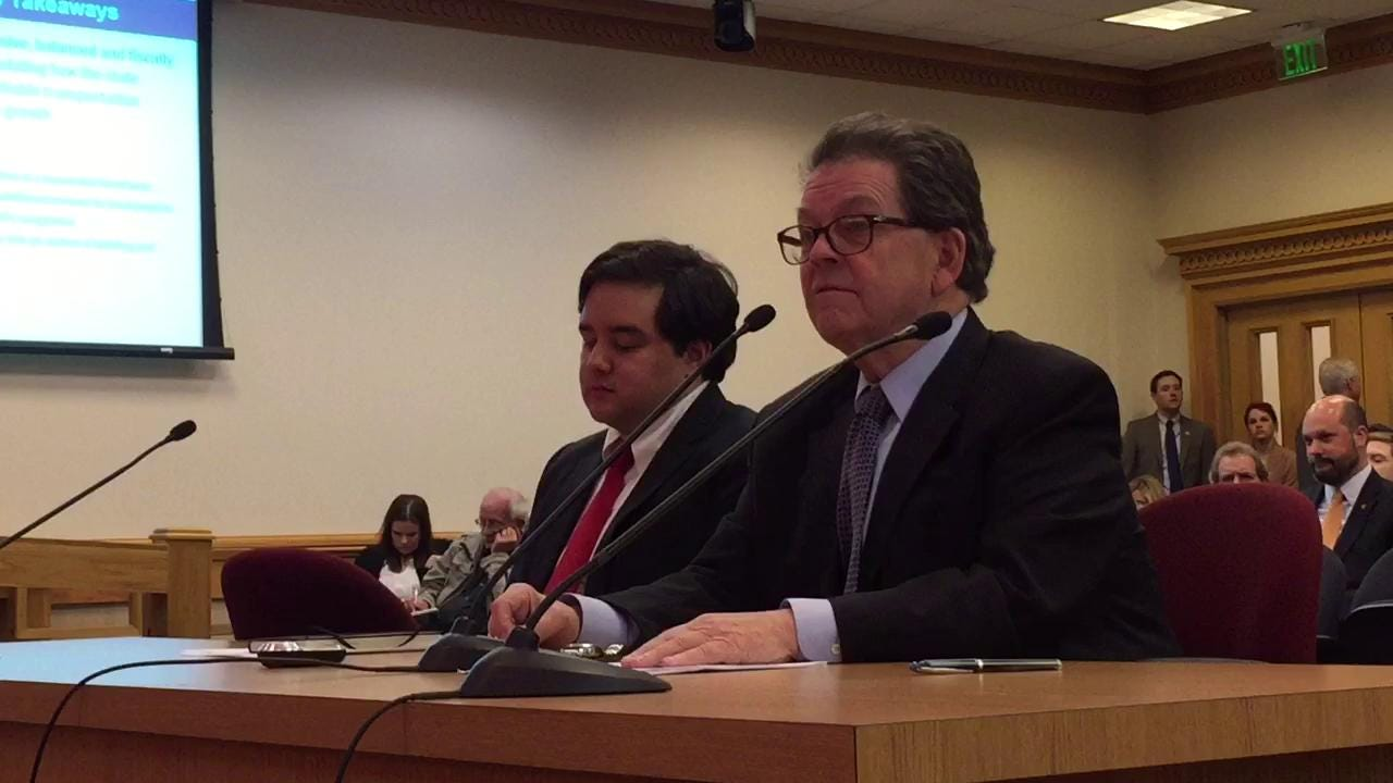 Arthur Laffer testifies about gas tax