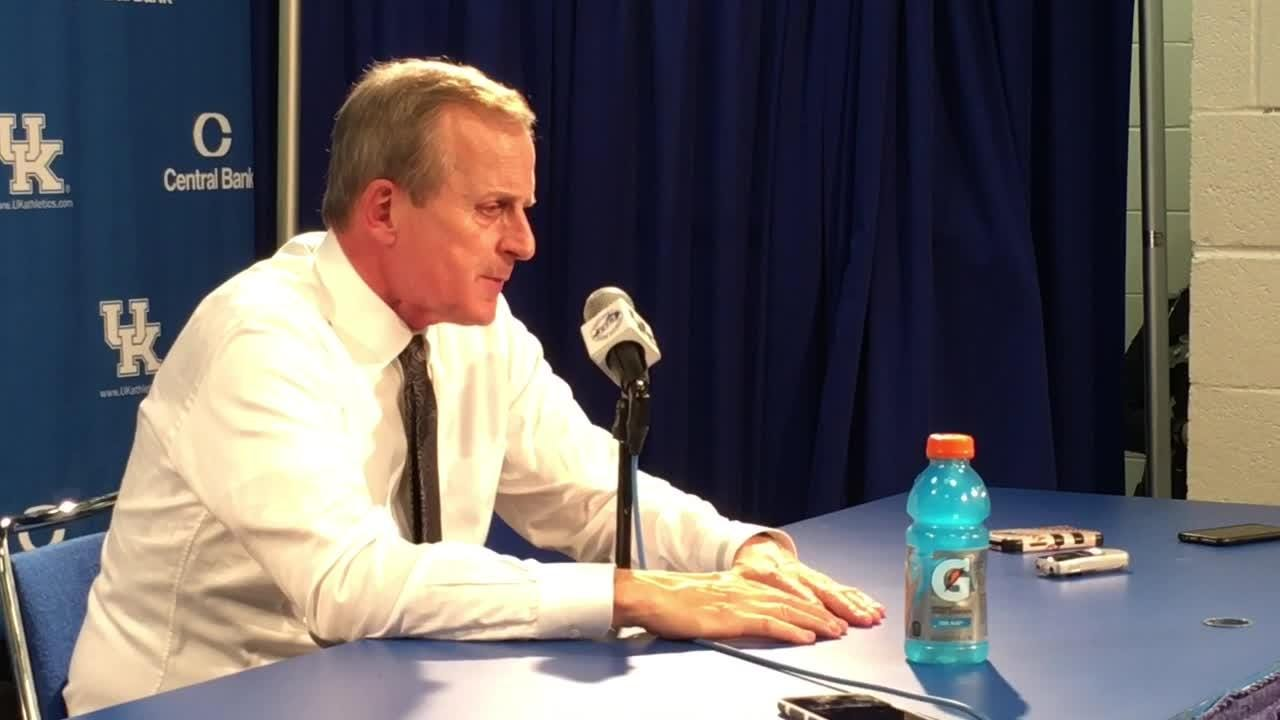 Rick Barnes: Effort at Kentucky wasn't good enough