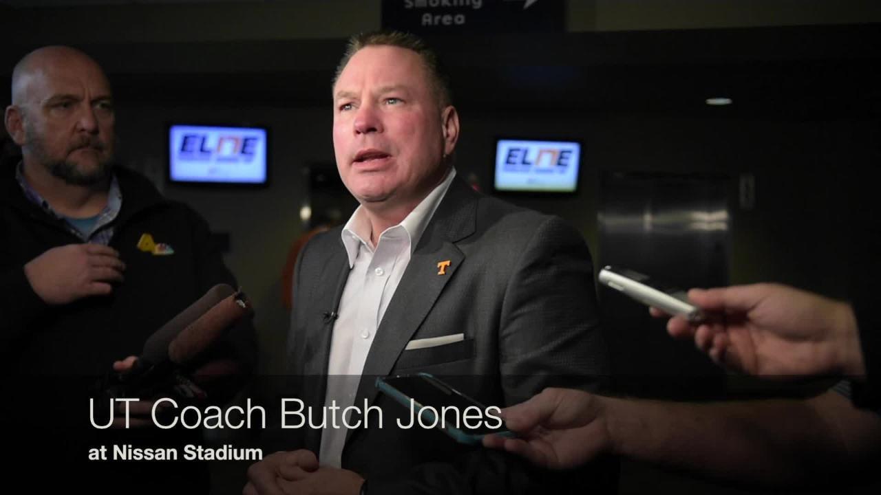 UT coach Butch Jones visits Nashville after Signing Day