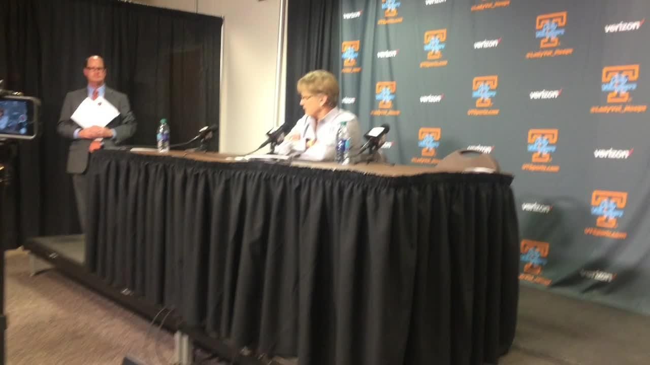 Holly Warlick on Lady Vols' win over Missouri