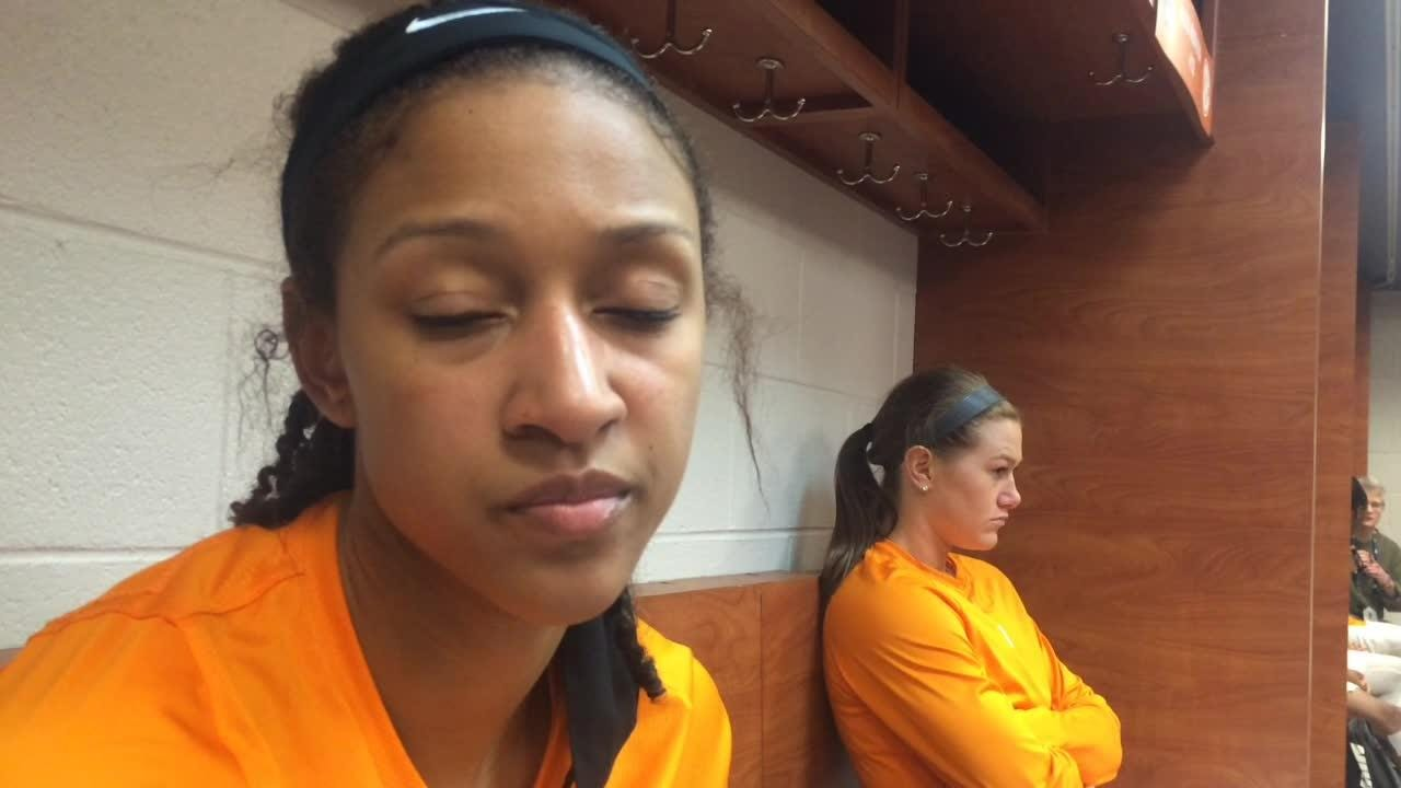 Lady Vols' Jaime Nared on SEC tournament loss to Alabama