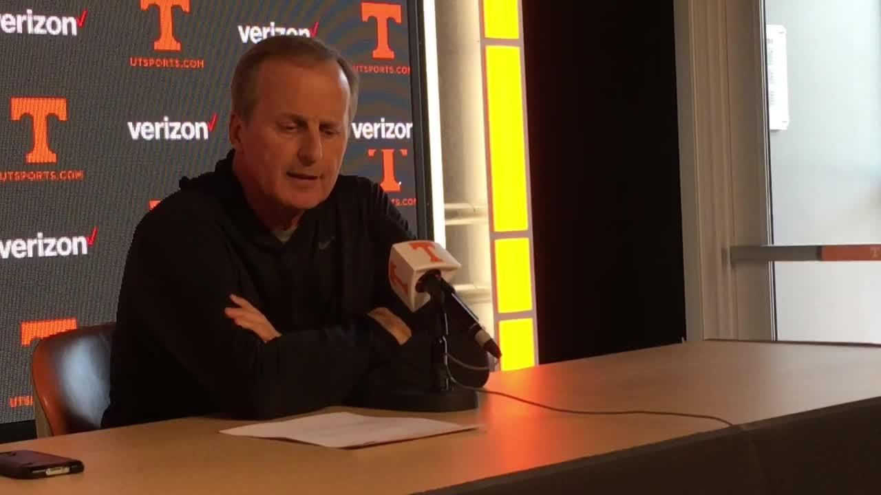 """Rick Barnes: """"We didn't take it to another level"""""""