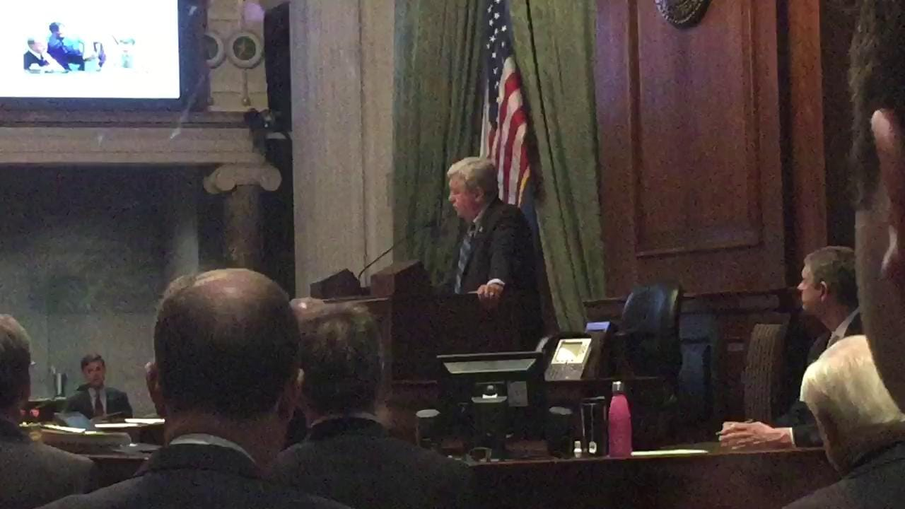 Lt. Gov. Randy McNally remarks on the late Sen. Doug Henry