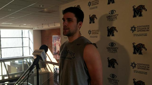 Jake McDowell looks back on his Memphis career